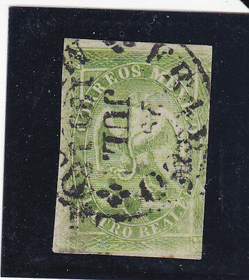 Mexico 24a Period 2 Consignment 130-1864 Only 1,000 Sent