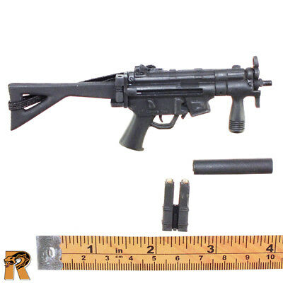 Foreign Weapons #1 - MP5 (Folding Stock) #3 - 1/6 Scale - 21 Toys Action Figures