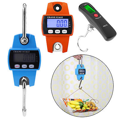 50/300kg LCD Electronic Crane Scale Digital Heavy Duty Hanging Weight Hook Scale