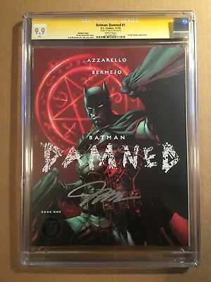 Batman Damned #1 DC Comics CGC Signature Series 9.9 Jim Lee Autograph Variant!!!