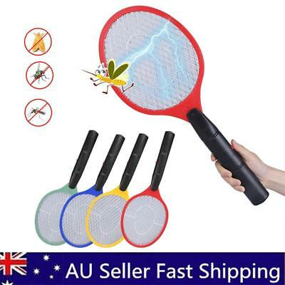 1/2X Electronic Fly Swatter Mosquito Bug Insect Kill Zapper Racket AU Stock