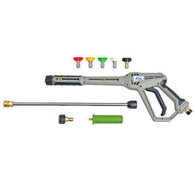 AU 4000PSI Pressure Washer Spray Gun Kit Various Spray Tips Included