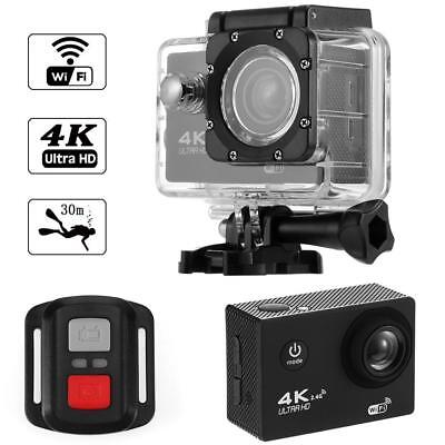 F60R 4K WIFI Action Camera 1080P HD 16MP Helmet Cam Waterproof DV Remote Control