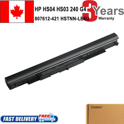 For HP HS04 HS03 807956-001 807957-001 807612-421 807611-421 240 G4 Battery CL