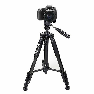 "ZOMEI Q111 55"" Professional Aluminum Alloy Camera Tripod for DSLR Canon Nikon"