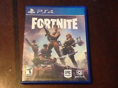 Fortnite Sony PlayStation 4 Used PS4 Physical Game Disc Rare US Version 2017
