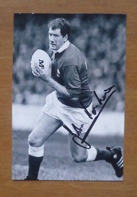 John Perkins (Wales, 1983-86) - Signed Photograph (6'' x 4'').