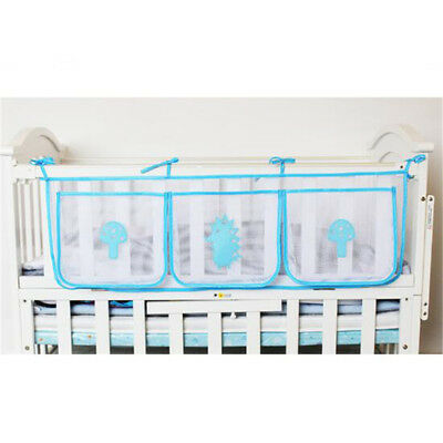 Baby Bed Hanging Bag Infant Bottle Clothes Storage Organizer Practical Accessory