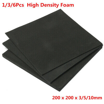 EVA ESD Anti Static High Density Foam Sheets 20 x 20cm DIY Craft Model 3 ~ 10mm