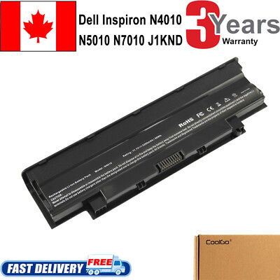 Battery J1KND For DELL Inspiron 3520 3420 M5030 N5110 N5050 N4010 Laptop COOL