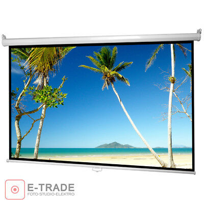 "63"" x 47"" Wall Projection Screen for DLP LCD Projector / 4:30 16:9 160x120cm"
