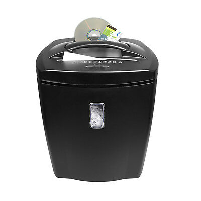 Heavy Duty Paper Shredder Professional 10 Sheet CD Credit Card With Waste Bin UK