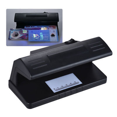 UV Blue Light Practical Counterfeit Bill Currency Fake Money Detector Checker