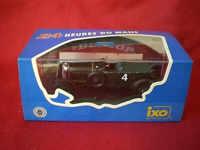 IXO BENTLEY SPEED SIX #4 Winner le Mans 1930 1/43