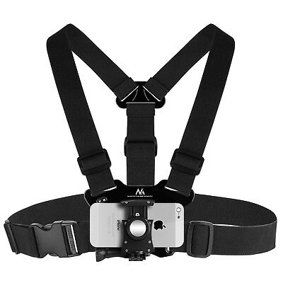 Chest Harness Strap Phone Camera GoPro Body Holder Mount Belt Universal Action