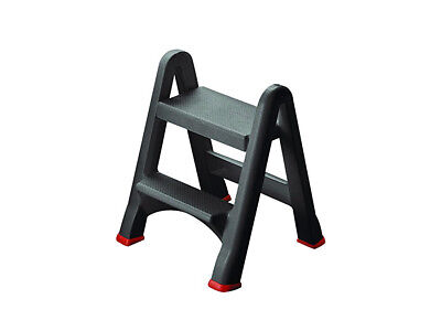 Magnificent Curver Folding 2 Step Ladder Up To 150Kg Slip Proof Surface Ocoug Best Dining Table And Chair Ideas Images Ocougorg