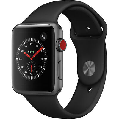 Apple Watch Series 3 Smartwatch with GPS + Cellular Sports Band Refurbished