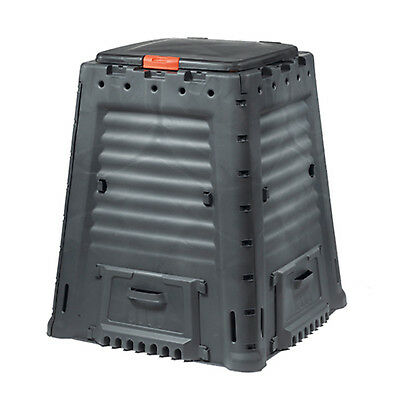 650 L Garden Compost Bin Eco Recycling Composter Plastic