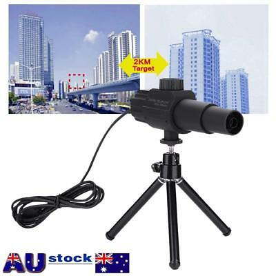 70X Smart USB Digital Zoom Monocular Telescope HD 2MP Camera For Outdoor Sports