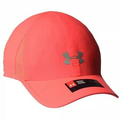Womens Under Armour UA Free Fit Hat Cap Hot Pink One Size Heat Gear 1295154 d3b70aeeaed0
