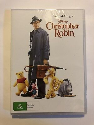Christopher Robin (DVD,2018) Brand New & Sealed Movie 🍿 Region 4 Disney