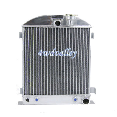 1932 3 ROW FORD CHOPPED CHEVY ENGINE All Aluminum Radiator New 32