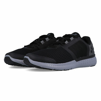 Under Armour Junior Micro G Fuel GS Running Shoes Trainers Sneakers Black Sports