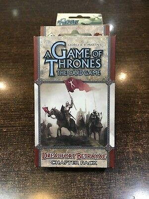 A Game of Thrones DREADFORT BETRAYAL Chapter pack Fantasy flight LCG