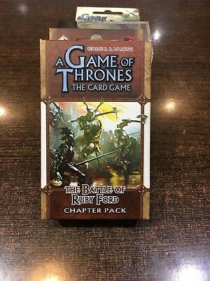 A Game of Thrones THE BATTLE OF RUBY FORD Chapter pack Fantasy flight LCG
