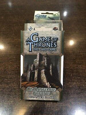 A Game of Thrones ON DANGEROUS GROUNDS Chapter pack Fantasy flight LCG