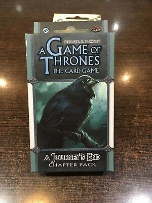 A Game of Thrones A JOURNEY'S END Chapter pack Fantasy flight LCG