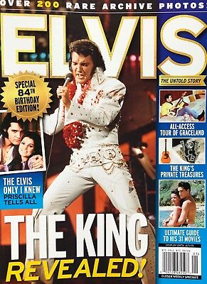 ELVIS PRESLEY THE KING REVEALED 2019 NEW MAGAZINE SPECIAL 84th BIRTHDAY EDITION