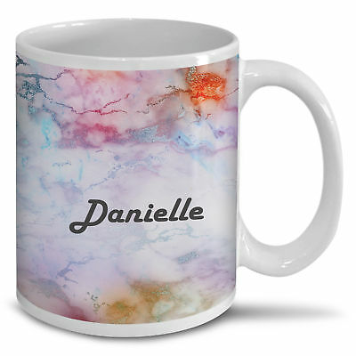 Personalised Marble Design Novelty Gift Coffee Tea Cup Mug - A21
