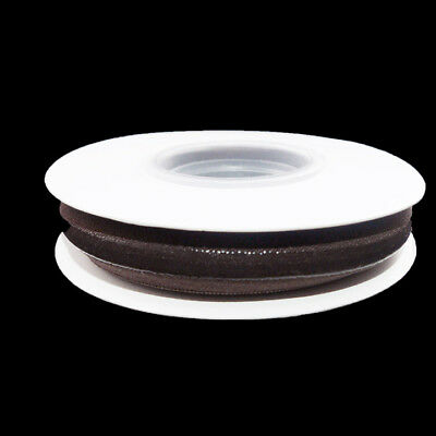 Brown Silicone Backed Fold Over Elastic - 5 Yards Roll