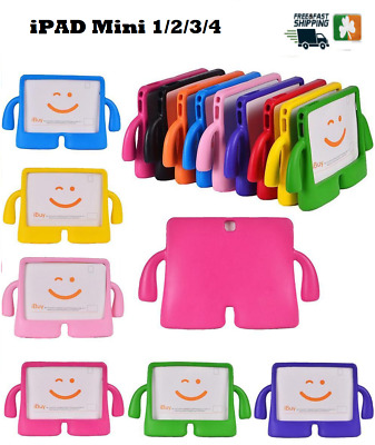 Tough Kids Shockproof Foam Stand Case Cover For Apple Ipad Mini 1/2/3/4