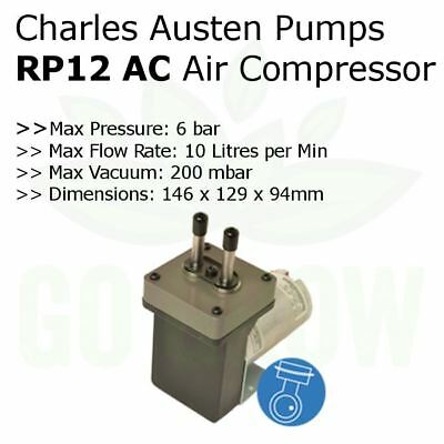 6 Bar Max Rocking Piston Heavy Duty Air Compressor - Charles Austen