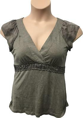 4c27ae33b PRE-OWNED LADIES NEXT Brown Sleeveless Top Size 16 MS272 -  5.15 ...