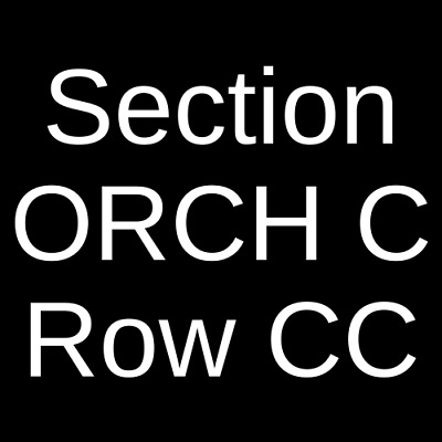 2 Tickets Ten Grands Concert 4/20/19 Arlene Schnitzer Concert Hall Portland, OR