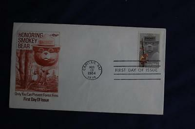 Smokey Bear 20c Stamp FDC Artmaster Cachets Sc#2096 13259 Prevent Forest Fires