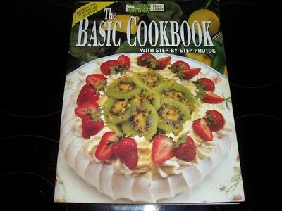 AUST WOMENS WEEKLY THE BASIC COOKBOOK STEP BY STEP recipes chef acceptable