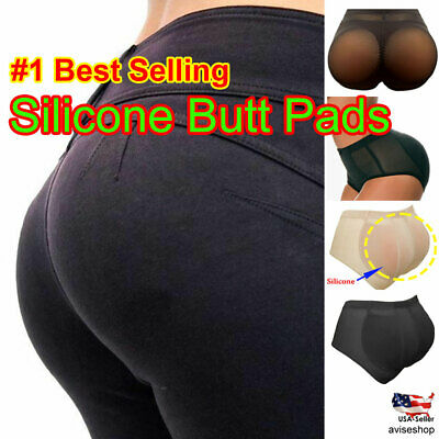 Best 100% Silicone Pads Butt Enhancer Shaper Panties Buttock Tummy Control