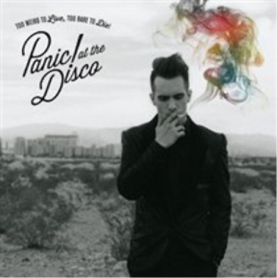 Panic! At The Disco-Too Weird to Live, Too Rare to Die (UK IMPORT) CD NEW
