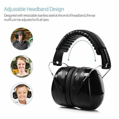 Ear Defenders 35dB Highest NRR Safety Ear Muffs Shooting Hearing Protector Adult