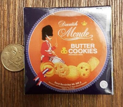Coles Little Shop Mini Collectables - Danish Monde Butter Cookies
