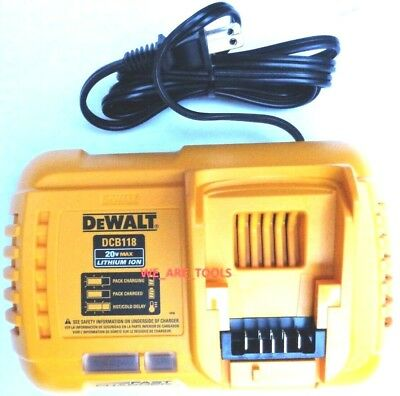 Dewalt Flexvolt DCB118 12V-20V MAX Lithium Battery Charger,For Drill,Saw 20 volt
