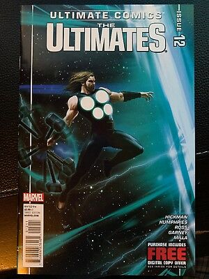 Ultimate Comics The Ultimates # 12 (2012, Marvel) 1st Print Thor Cover Hickman