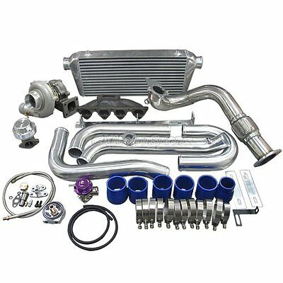 CXRACING TOP MOUNT Turbo Kit + Catback For Datsun 510 with