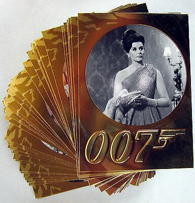 James Bond 50th Anniversary Series 2 - 99 Card base set PLUS SERIES 2 PROMO CARD
