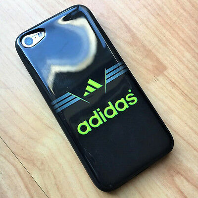 7f76fd072 Cool iPhone 5 5s 5c Case Neon Adidas Logo Print Design Silicon Cover  Protection