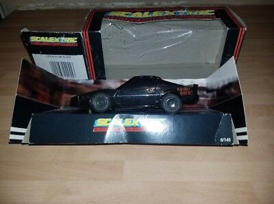 ORIGINAL VINTAGE KNIGHT Rider KITT Scalextric Car Boxed Very Rare No Reserve